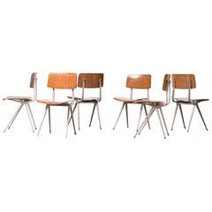 Six Friso Kramer Result Chairs, 1952