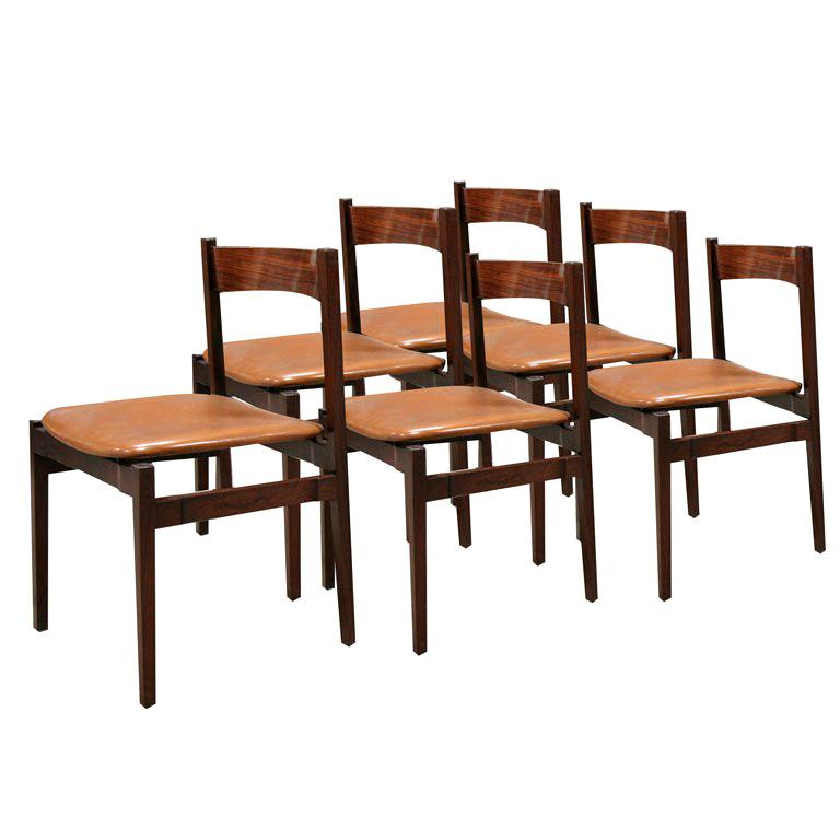 Six Gianfranco Frattini Chairs