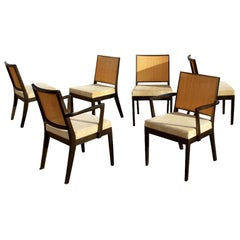 Six Glenn Of California Dining Side Chairs