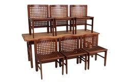 Six Italian Dining Chairs by Ammannati and Vitelli