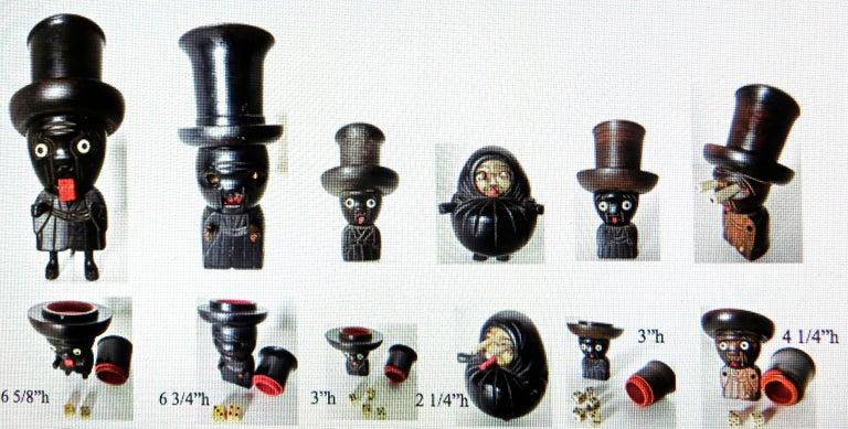 Six Kobe Toys, Japanese, Meiji Period, circa 1900 For Sale 13