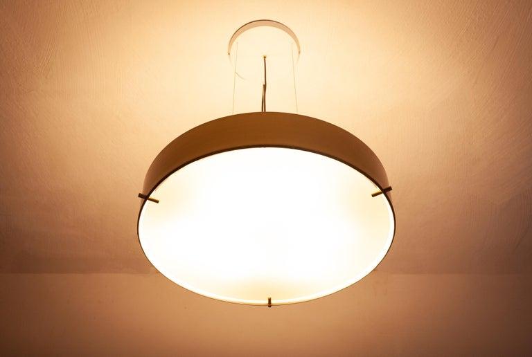 Large Stilnovo Model 288 Pendant Light, 1950s For Sale 3