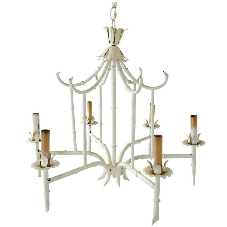 Six light chinoiserie cage chandelier at 1stdibs six light chinoiserie cage chandelier for sale aloadofball Choice Image