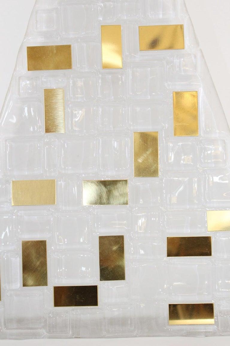 Art Deco Six Luxor Sconces / Flush Mounts by Fabio Ltd For Sale