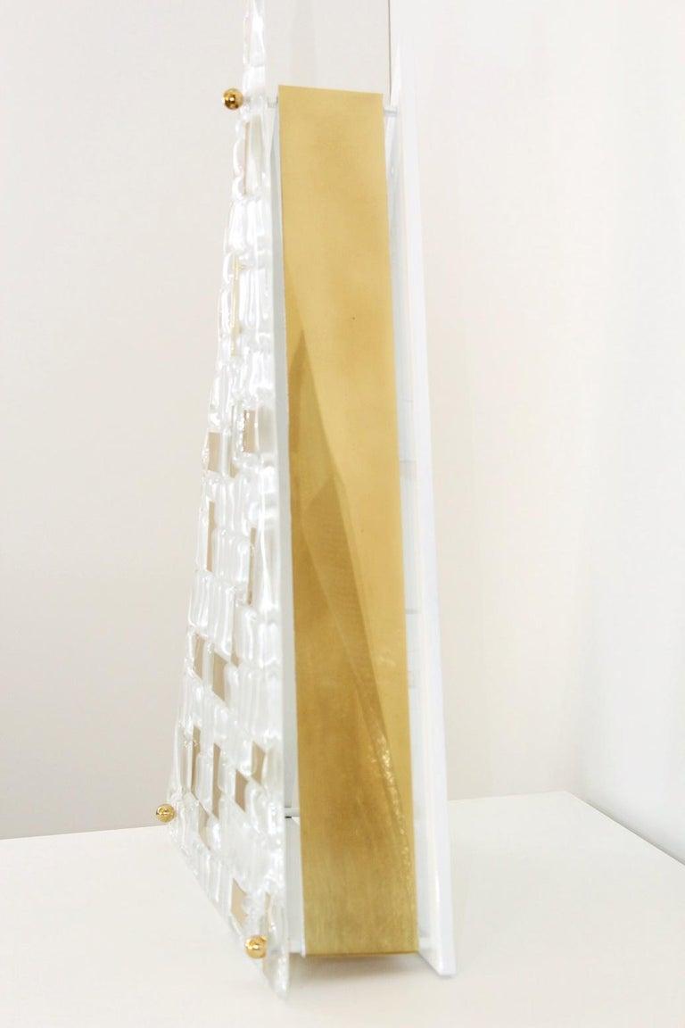 Italian Six Luxor Sconces / Flush Mounts by Fabio Ltd For Sale