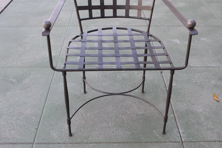 American Six Mario Papperzini for John Salterini Patio Chairs For Sale