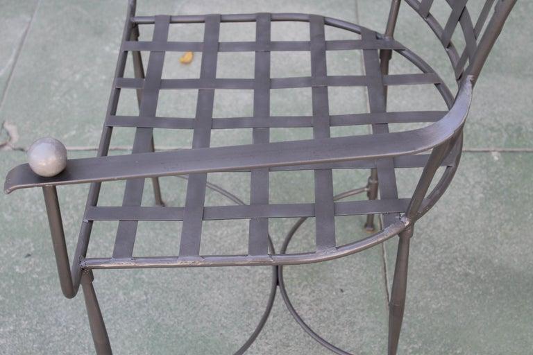 Six Mario Papperzini for John Salterini Patio Chairs For Sale 1