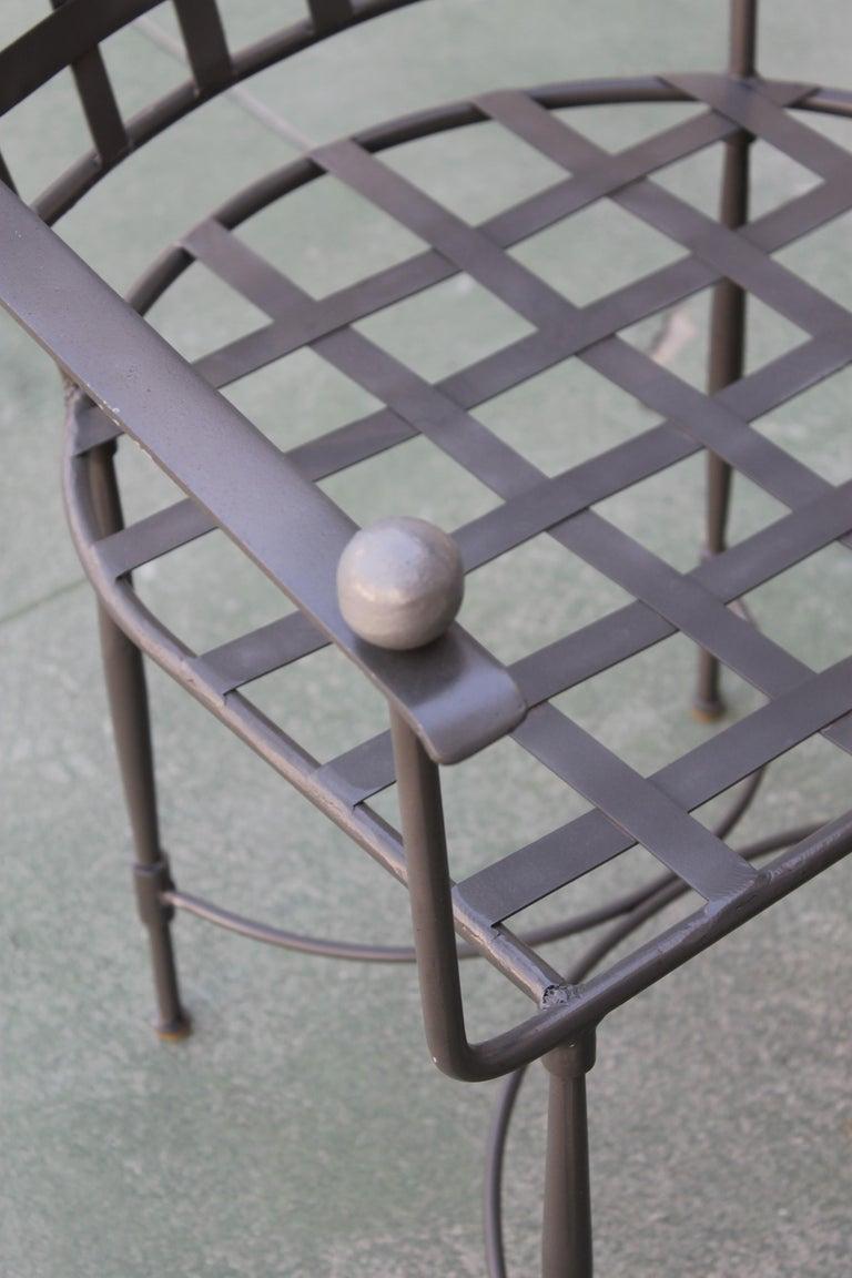 Six Mario Papperzini for John Salterini Patio Chairs For Sale 2