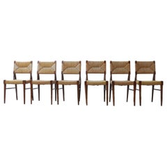 Six Midcentury Dining Chairs