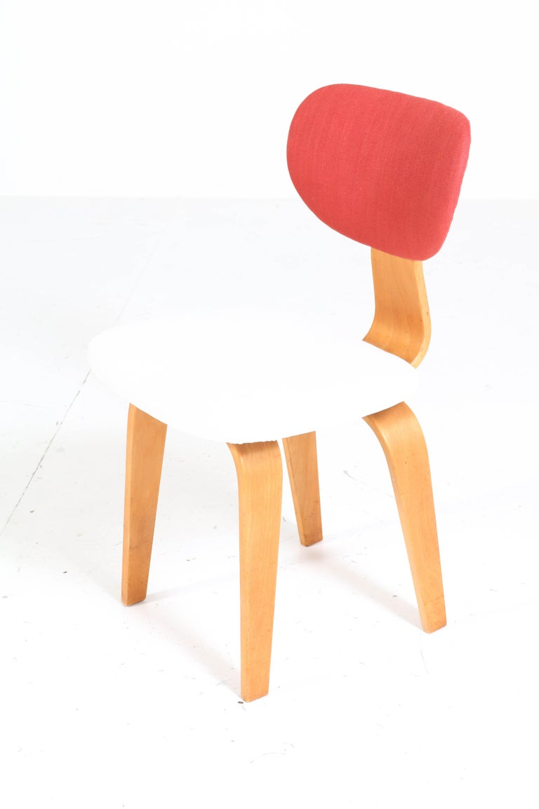 Six Mid-Century Modern Combex Series SB02 Chairs by Cees Braakman for UMS Pastoe 5
