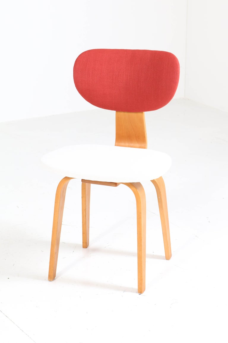 Six Mid-Century Modern Combex Series SB02 Chairs by Cees Braakman for UMS Pastoe 6