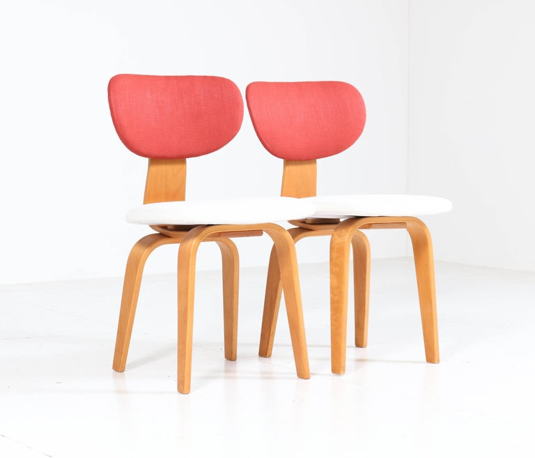 Mid-20th Century Six Mid-Century Modern Combex Series SB02 Chairs by Cees Braakman for UMS Pastoe
