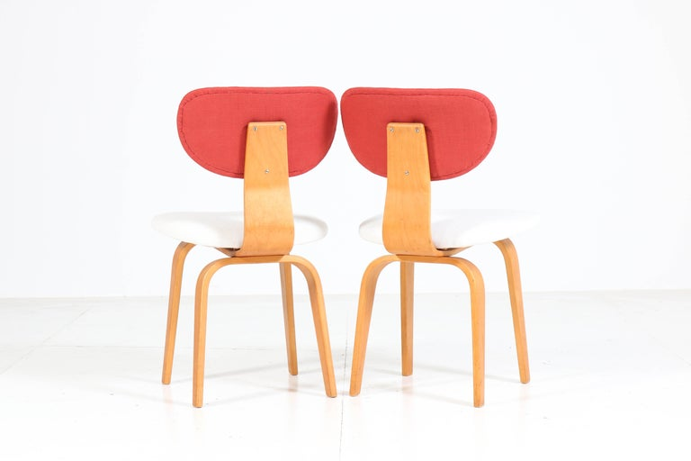 Six Mid-Century Modern Combex Series SB02 Chairs by Cees Braakman for UMS Pastoe 1