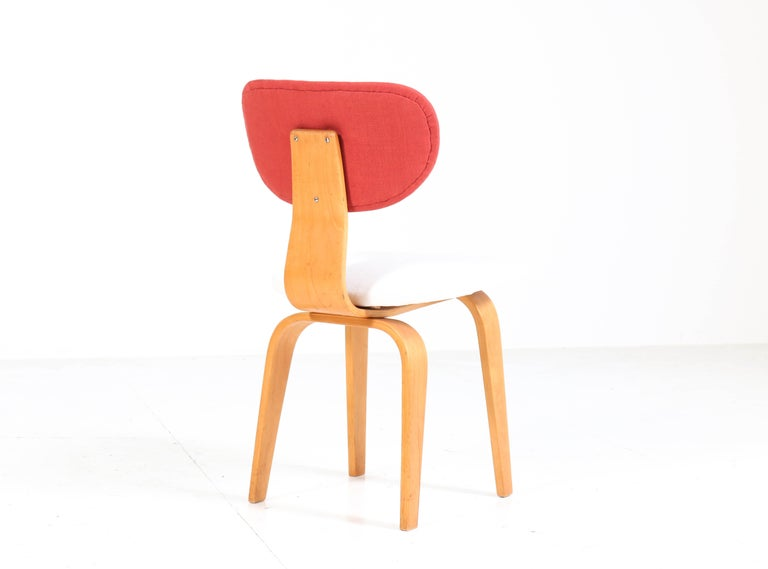 Six Mid-Century Modern Combex Series SB02 Chairs by Cees Braakman for UMS Pastoe 2