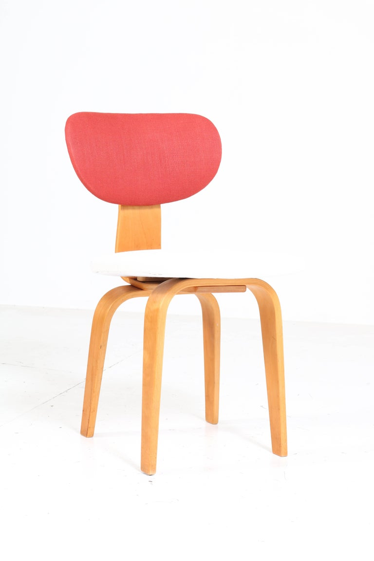 Six Mid-Century Modern Combex Series SB02 Chairs by Cees Braakman for UMS Pastoe 3