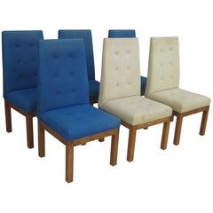 Six Mid-Century Modern Glenn of California Dining Chairs