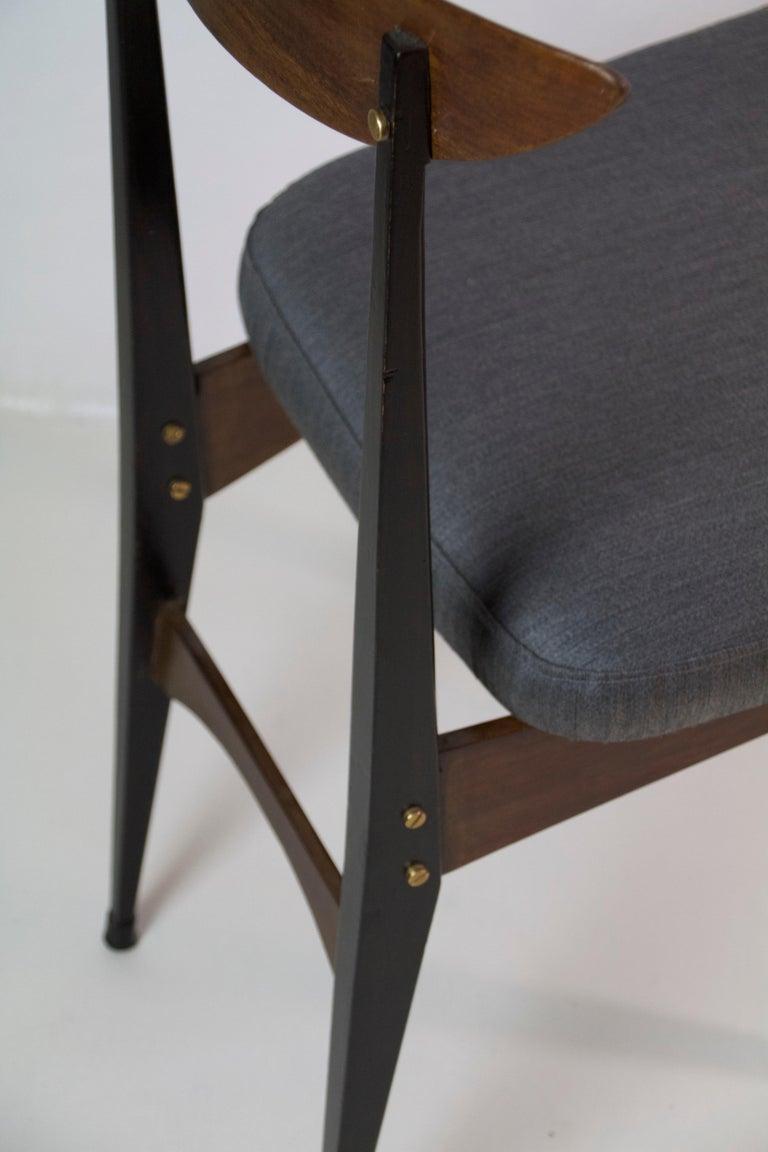 Six Midcentury Italian Dining Chairs 3