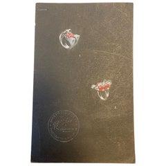 Six Original Gouache on Paper Jewelry Designs for Trabert & Hoeffer-Mauboussin