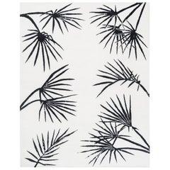 Six Palms by Liesel Plambeck, Californian Palm Tree Rug