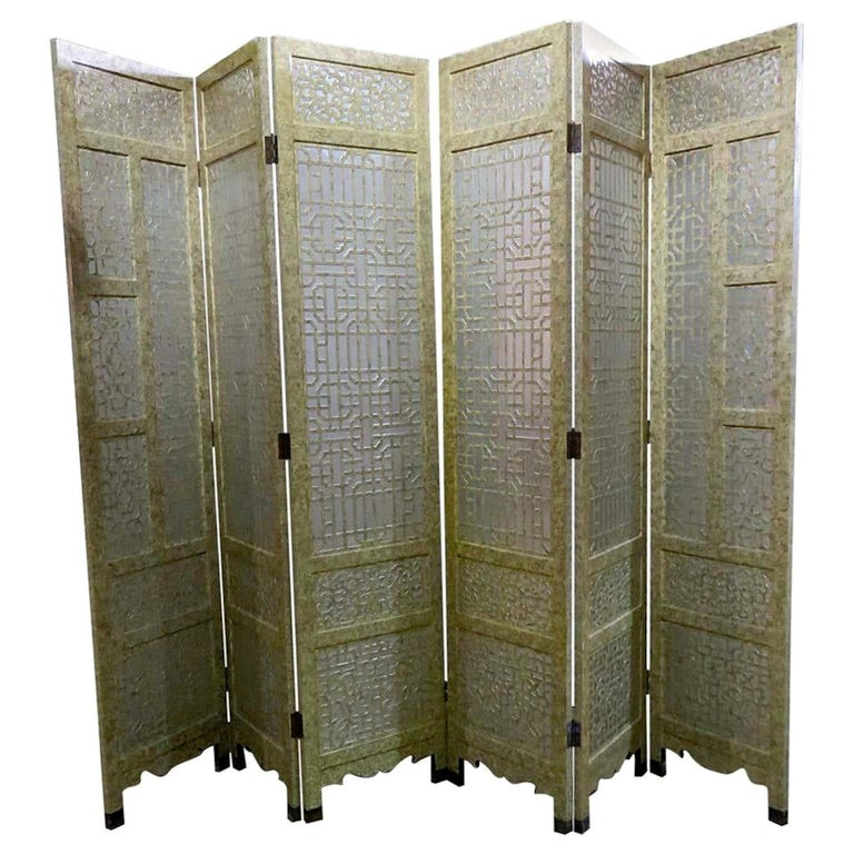 Six-Panel Screen For Sale