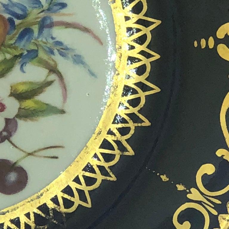 Six Regency Hand Painted Porcelain Plates by Coalport, circa 1805 For Sale 6