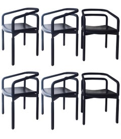 """Six """"Rubber Chairs"""" by Brian Kane for Metropolitan Furniture – Steelcase"""