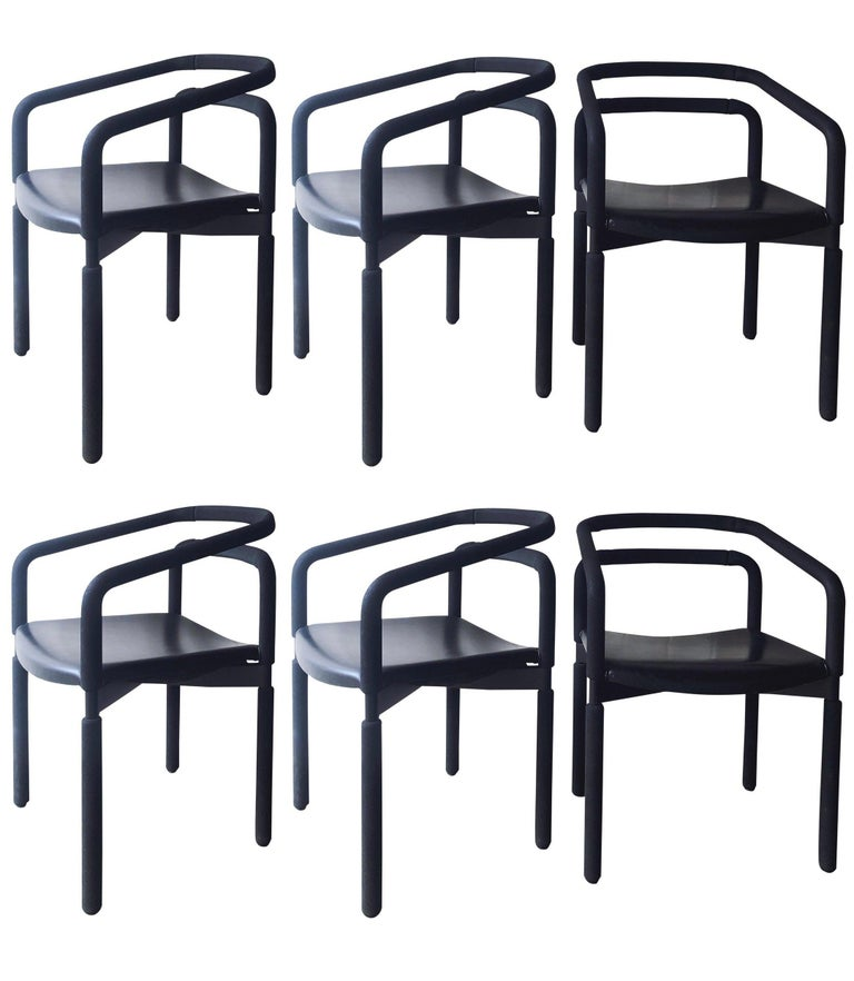 """Six """"Rubber Chairs"""" by Brian Kane for Metropolitan Furniture – Steelcase For Sale"""
