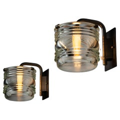 Four Sconces by Candle