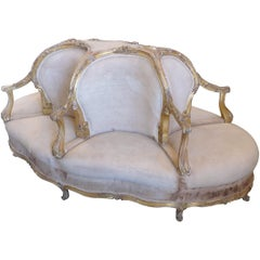 Six-Seat 19th Century French Conversation Seat