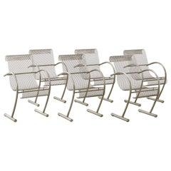 Six Shiro Kuramata Sing Sing Sing Chairs XO, France, 1985