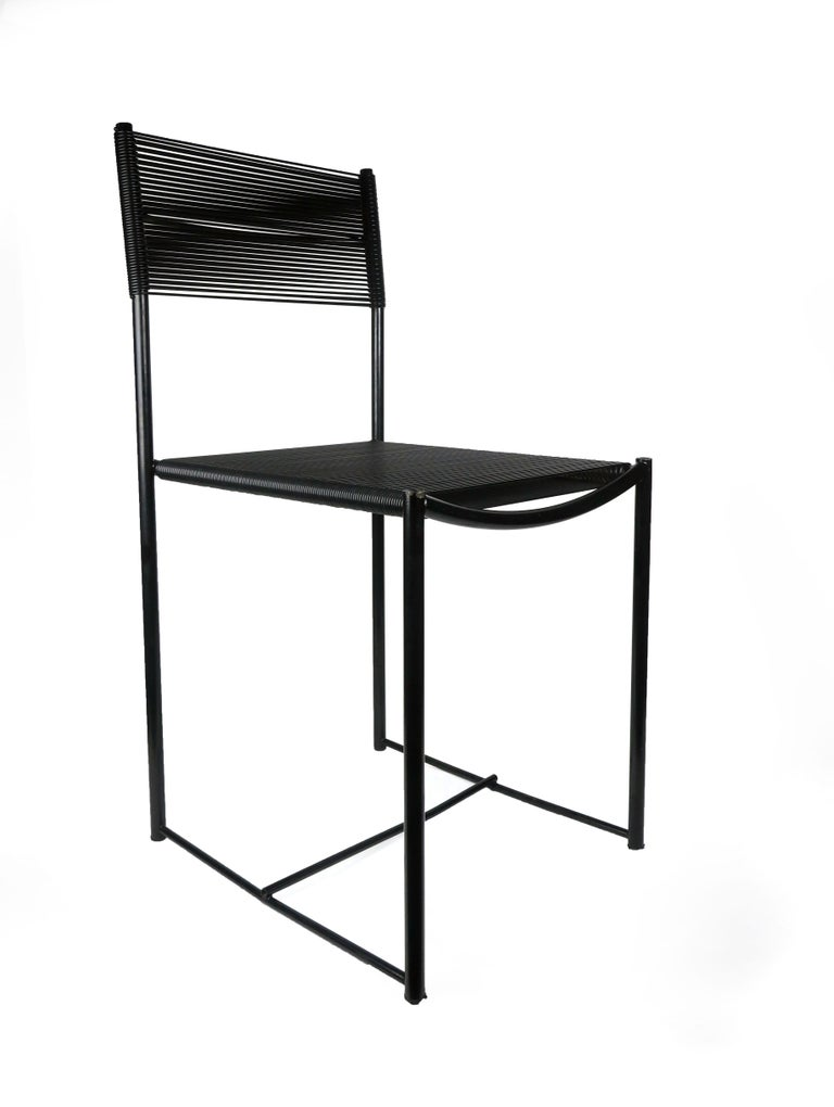 "Six ""Spaghetti"" Dining Chairs by Giandomenico Belotti for Alias For Sale 1"