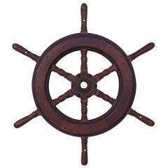 Six Spoke Ship Wheel
