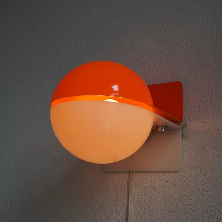 Six Table or Wall Lamps by Guzzini For Sale 3