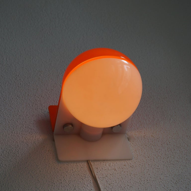 Six Table or Wall Lamps by Guzzini For Sale 4