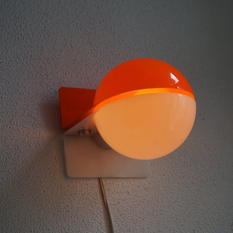 Six Table or Wall Lamps by Guzzini For Sale 5