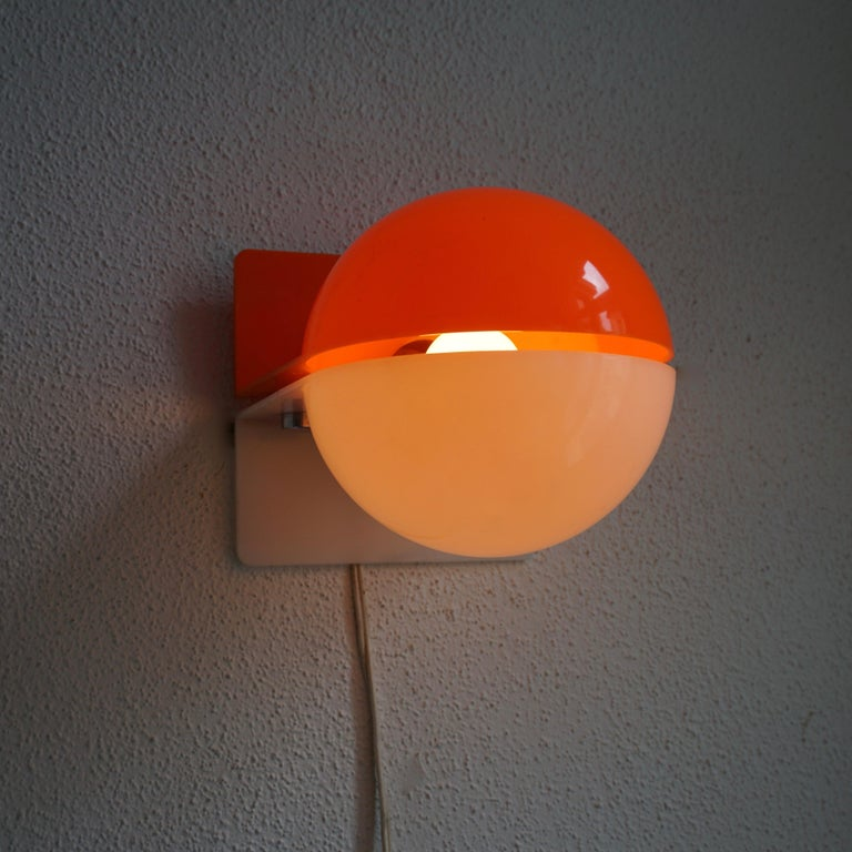 Six Table or Wall Lamps by Guzzini For Sale 1
