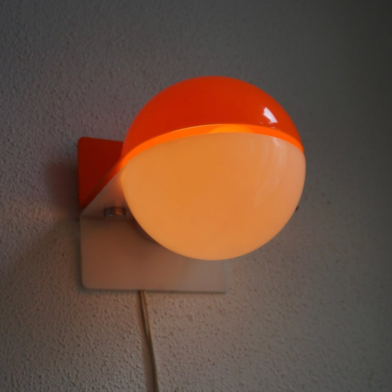 Six Table or Wall Lamps by Guzzini For Sale 2
