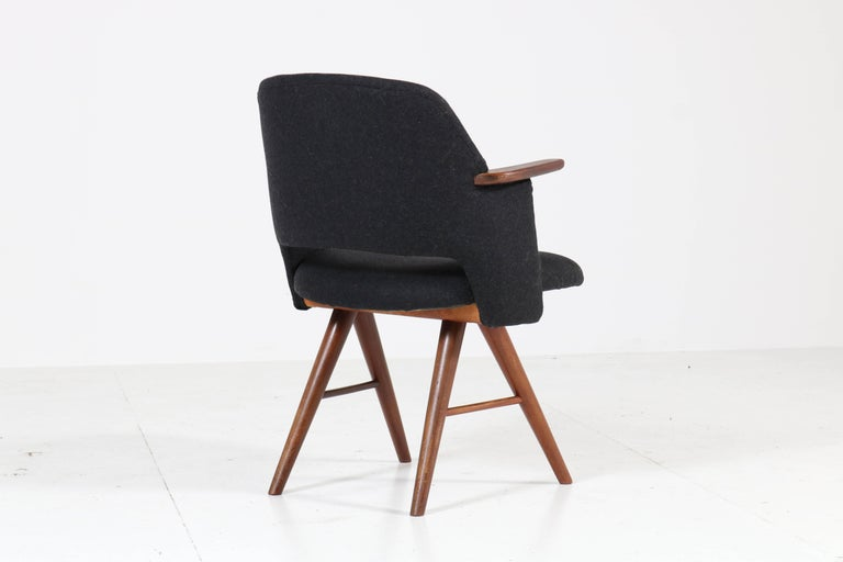 Six Teak Mid-Century Modern FE30 Dining Chairs by Cees Braakman for Pastoe, 1960 For Sale 4