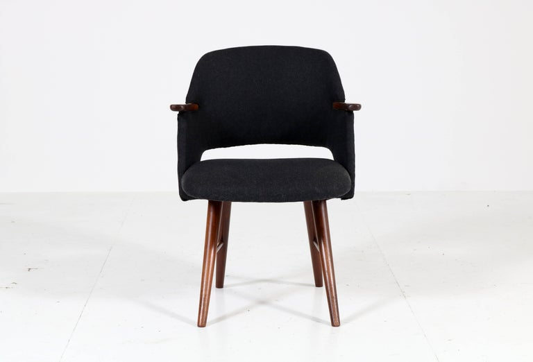 Six Teak Mid-Century Modern FE30 Dining Chairs by Cees Braakman for Pastoe, 1960 For Sale 1
