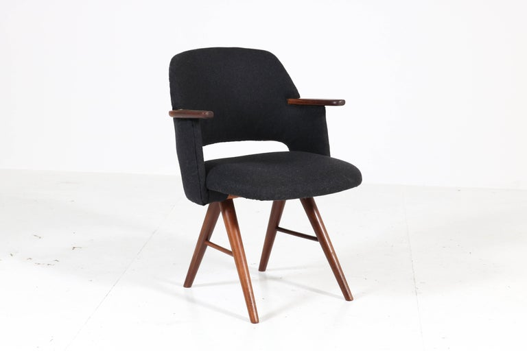 Six Teak Mid-Century Modern FE30 Dining Chairs by Cees Braakman for Pastoe, 1960 For Sale 2