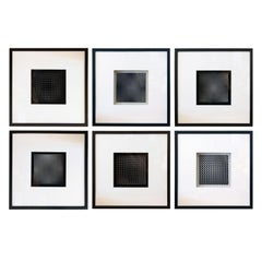 Six Vasarely Prints, Oeuvres Profondes
