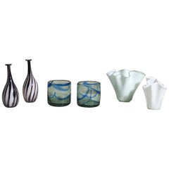 Six Vases Probably from Finland, 1950s-1980s