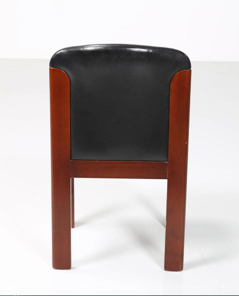Mid-20th Century Six Vintage Chairs by Silvio Coppola, Italy, 1960s For Sale