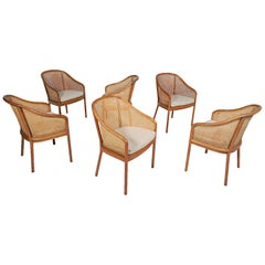 Six Ward Bennet Armchairs for Brickel Assoc. Design 1960s