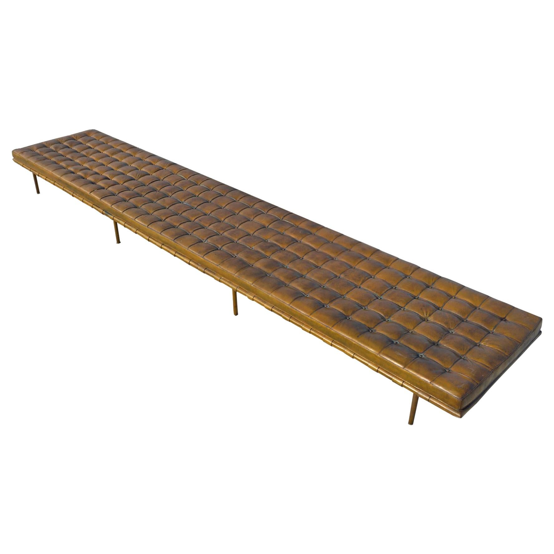 Sixteen Foot Mies van der Rohe Barcelona Daybed from the IBM Building