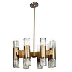 Sixteen Light Ceiling Fixture by Lightolier