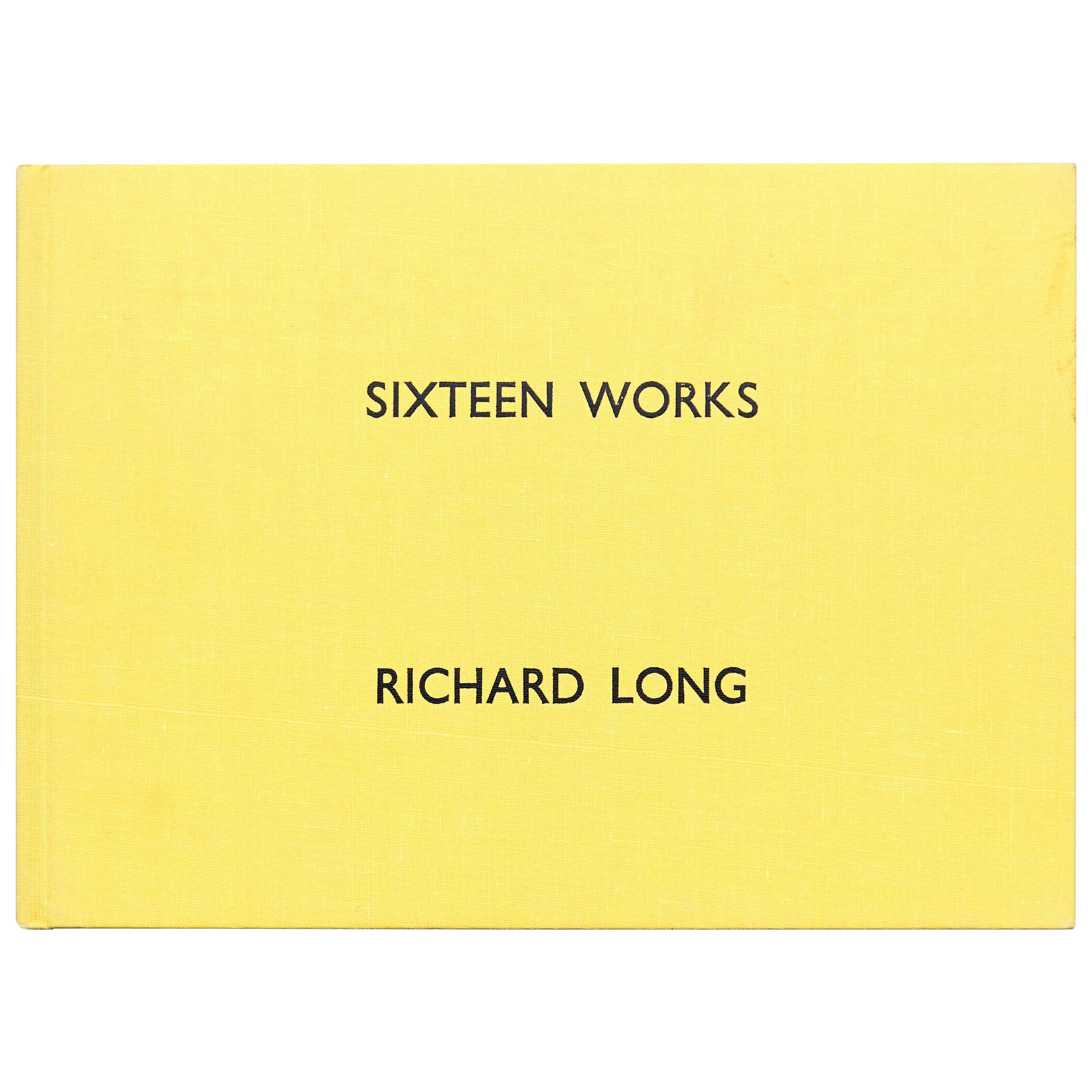 Sixteen Works, Richard Long Book