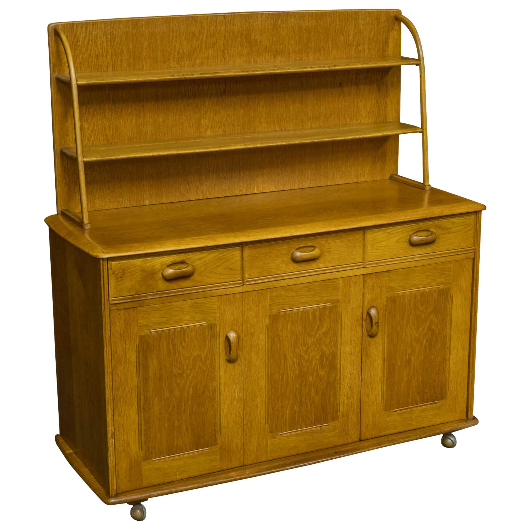 1960s Oak Priory Dresser