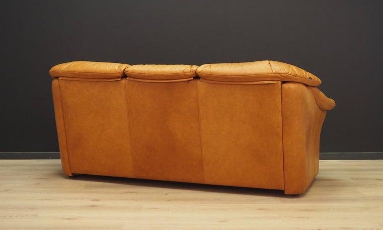 Leather Skalma Living Room Set Danish Design Vintage For Sale