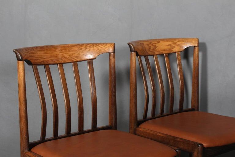 Swedish Skaraborgs Møbelindustri, Four Dining Chairs For Sale